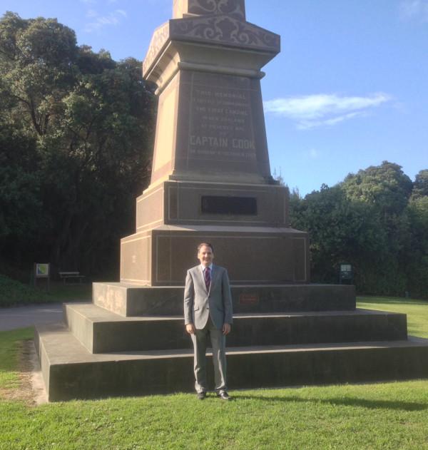 Dr Patrick Nolan in Gisborne