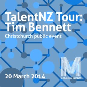 TalentNZ Tour: Tim Bennett speaks about immigration at the Christchurch public event