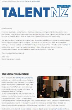 20140701 Screen shot of Newsletter 230w