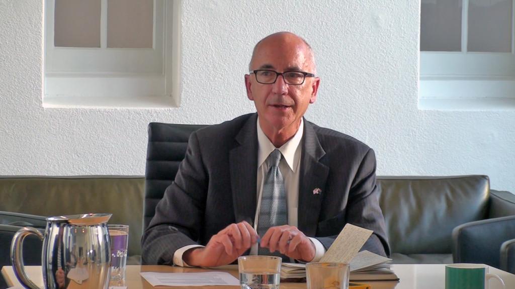 Dr Todd Capson speaks at McGuinness Institute