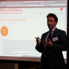 TalentNZ Menu of Initiatives launch: Raf Manji – Attracting international talent
