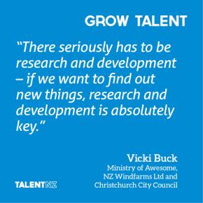 2013 TalentNZ Journal: Two years on – Vicki Buck